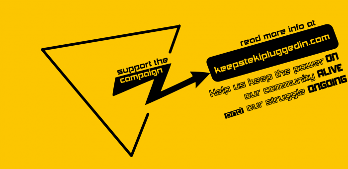 Keep Steki plugged in! Τhe first public financial report of our campaign #KeepStekiPluggedIn